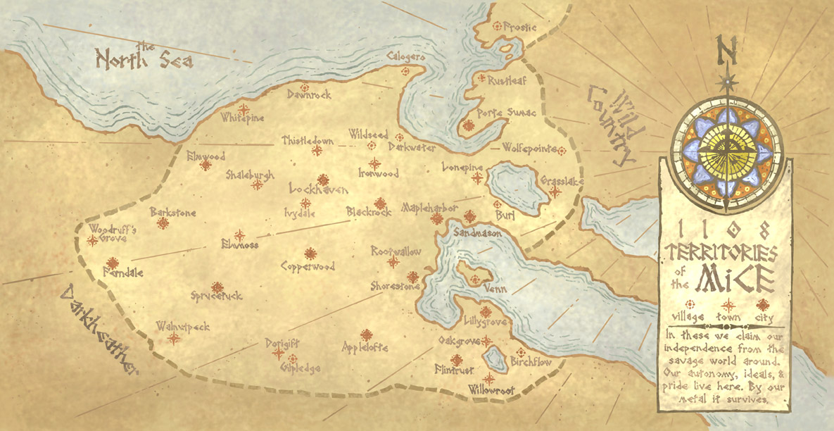 Maps Mouseguard