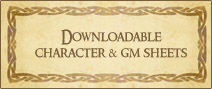 Downloadable Character Sheets and GM Materials